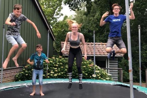 Trampo Springen